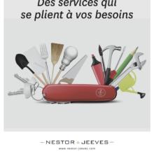 Publicité Nestor & Jeeves