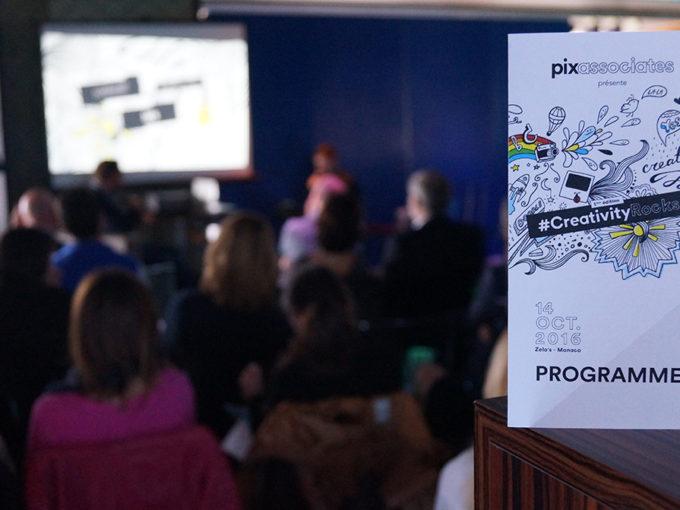 #CreativityRocks, une conférence sur la démarche créative