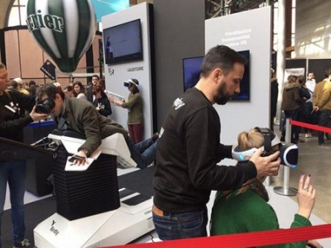 Immersion virtuelle totale au salon Virtuality 2017
