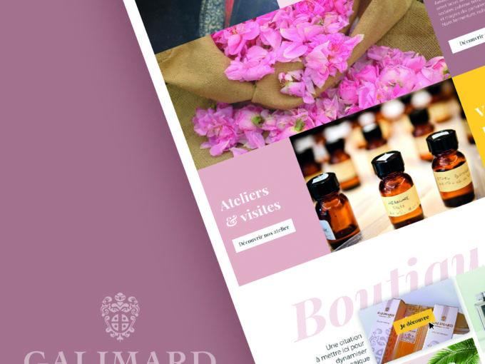 Notre collaboration avec la parfumerie Galimard